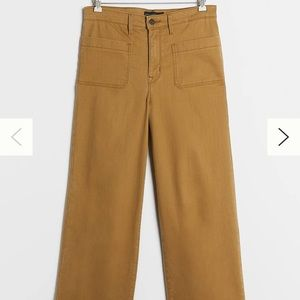 NWT Anthropologie Sanctuary Cropped Wide Leg Jeans